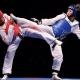 champions in the taekwondo school